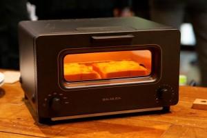 バルミューダのトースターが凄い。蒸気でふっくら・外はカリ!