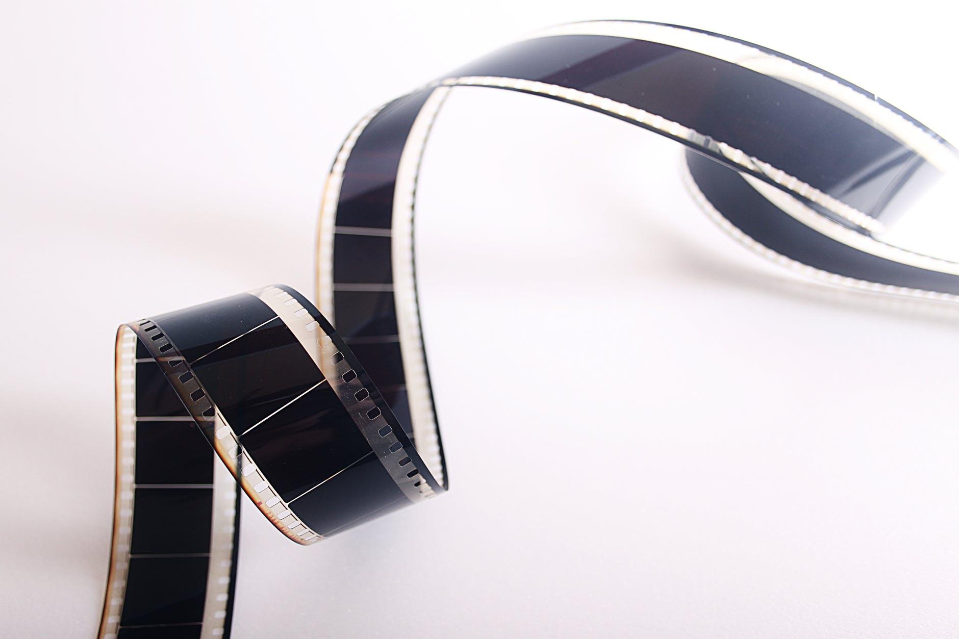 spiral film strip